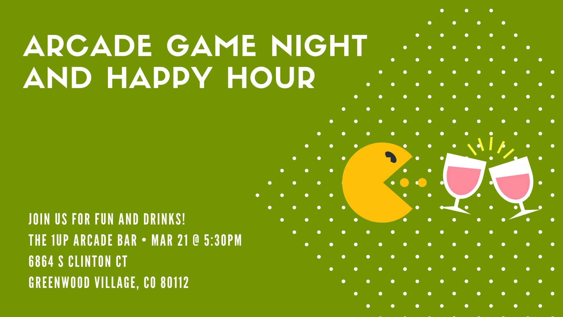 Arcade Game Night Denver DZ Alumnae
